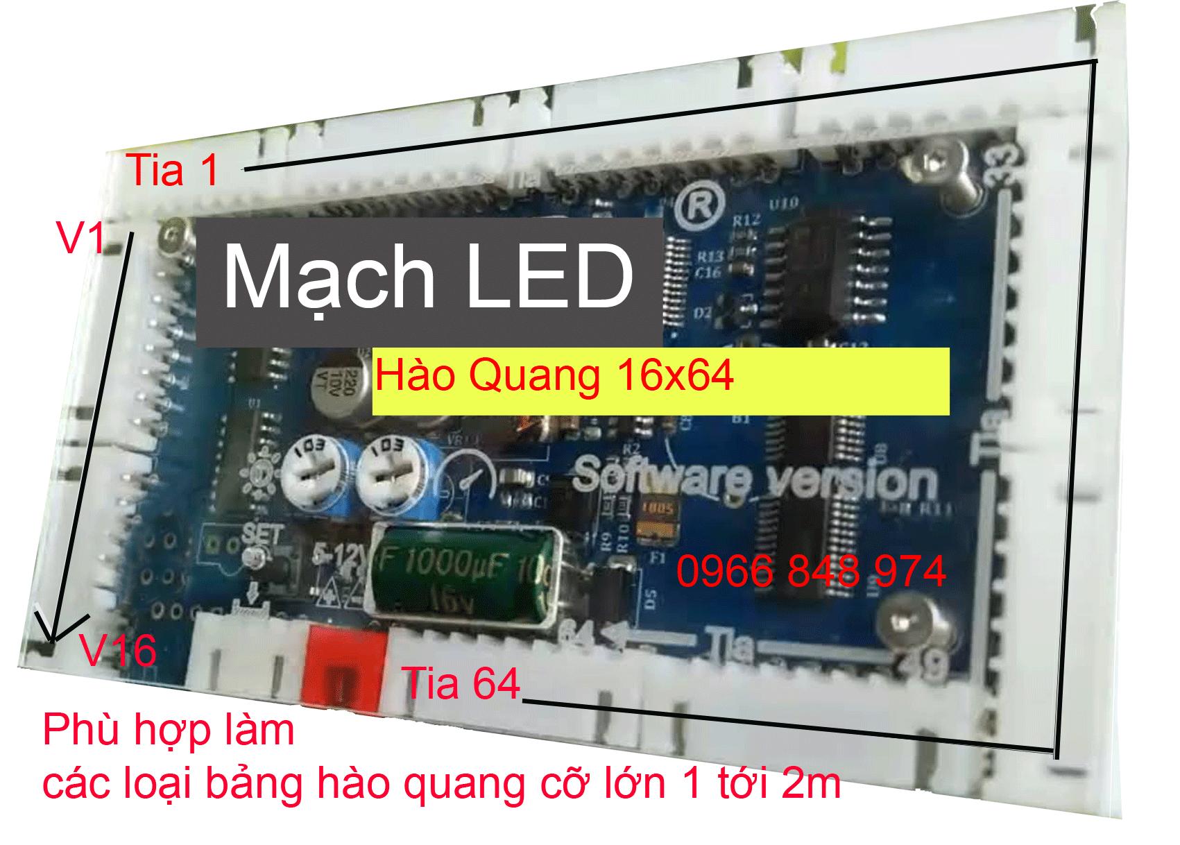 mach hao quang 16x64