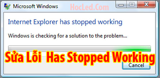 has stopped working