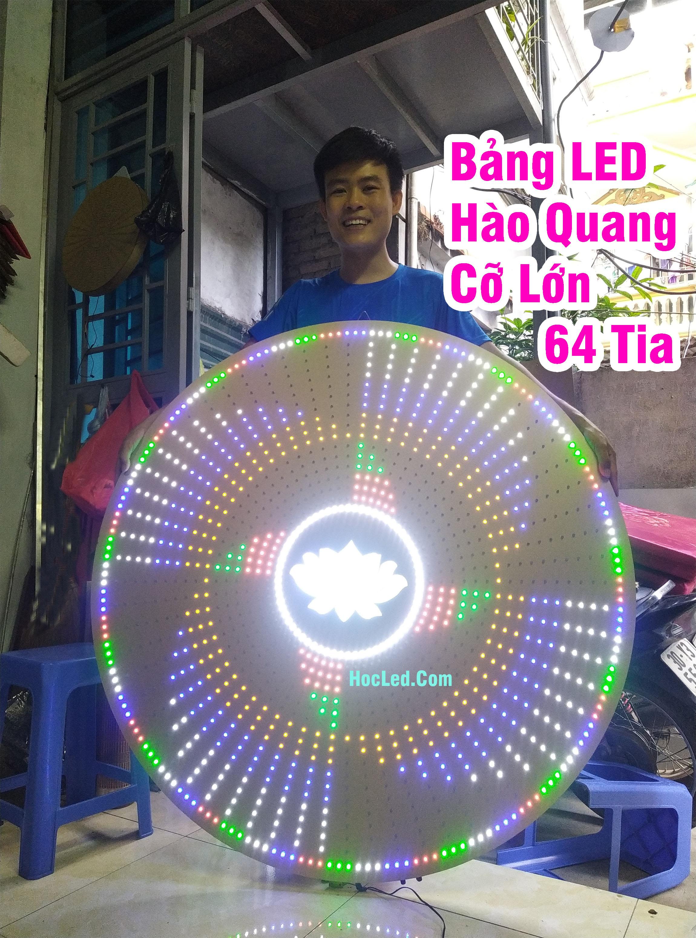 đèn hào quang phật đẹp nhất 64 tia