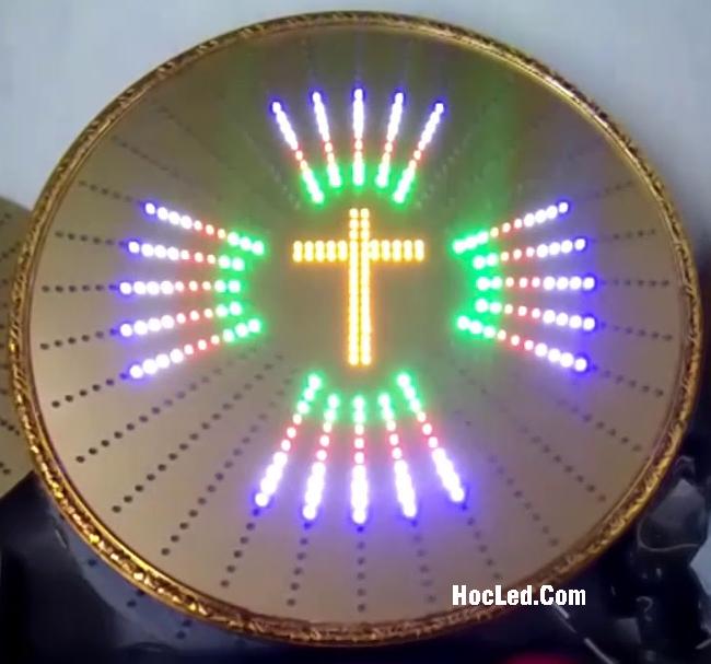 đèn led hào quang thiên chúa